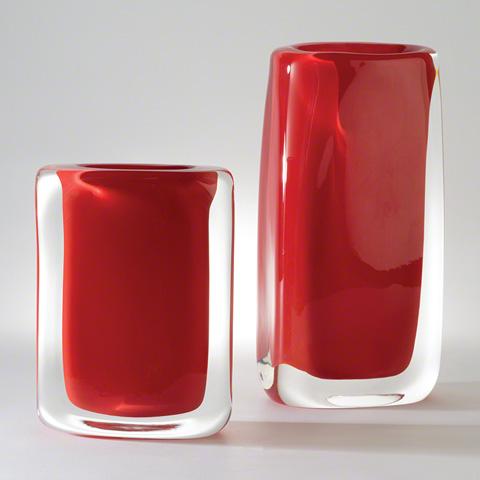 Global Views - Round Block Vase - 6.60313
