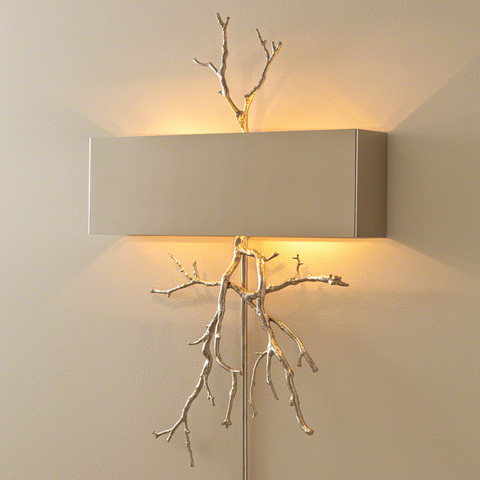 Global Views - Twig Hardwired Wall Sconce - 9.91798-HW