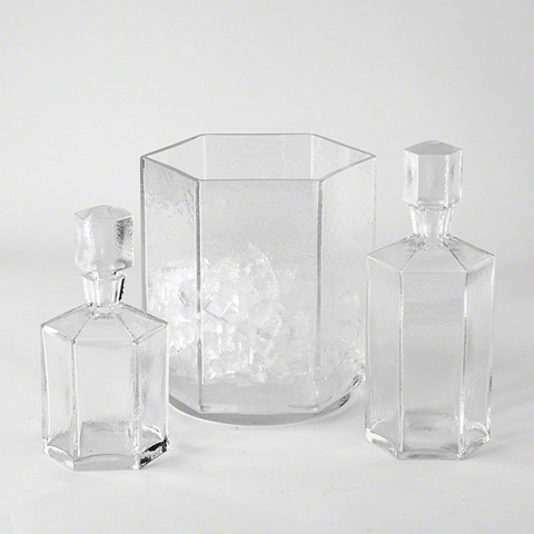 Global Views - Hex Decanter - JB1.10014