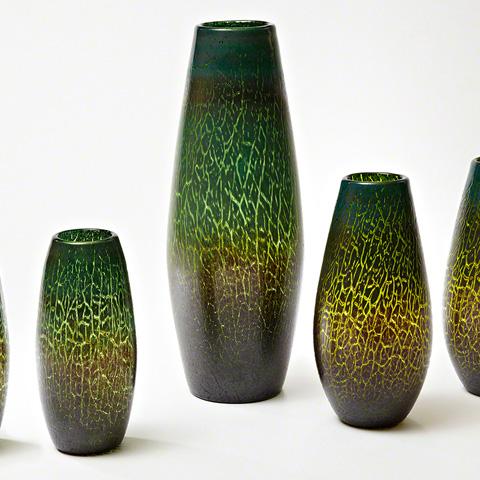 Global Views - Crackled Vase - 8.81963