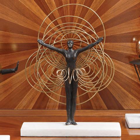 Global Views - Bauhaus Wire Woman - 8.82273
