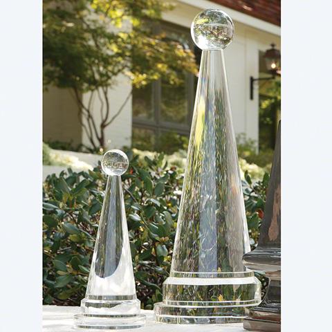 Global Views - Crystal Cone Obelisk - 8.82318