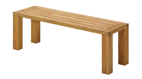 Gloster - Square Backless Bench - 429