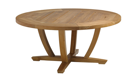 Gloster - Oyster Reef Round Coffee Table - 8682