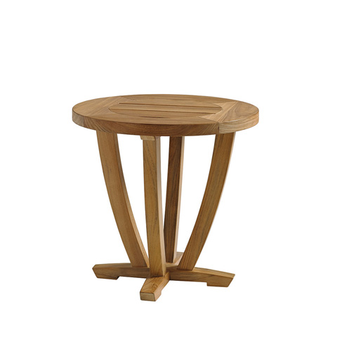 Gloster - Oyster Reef Round Side Table - 8684