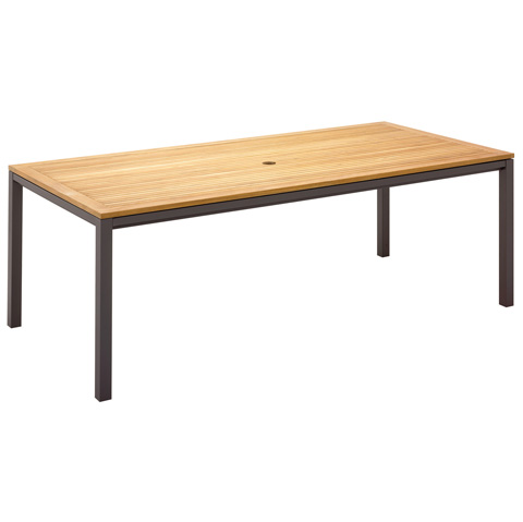 Gloster - Azore Rectangular Medium Dining Table - 5439