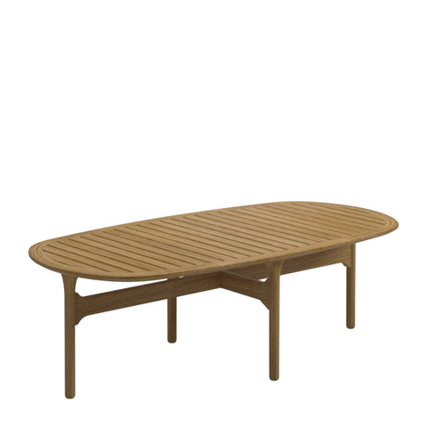 Gloster - Bay Coffee Table with Teak Top - 7971