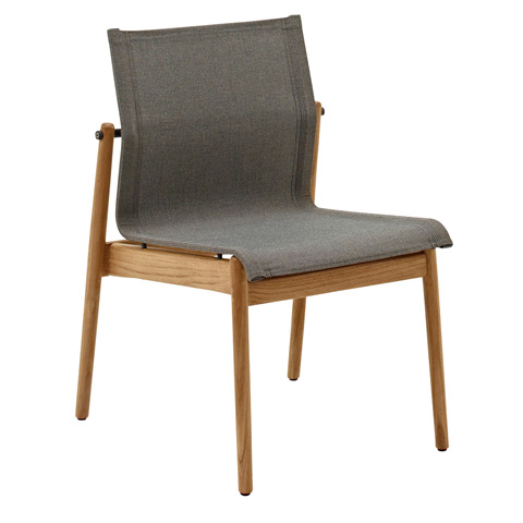 Gloster - Sway Teak Stacking Side Chair - 8202