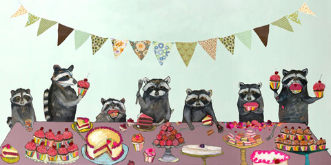 Greenbox Art - Cupcake Party Artwork - NB21352