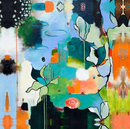 Greenbox Art - Bliss Like This 24x24 Canvas Wall Art - PE2206