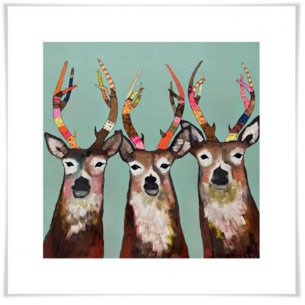 Greenbox Art - Designer Deer - NB14151