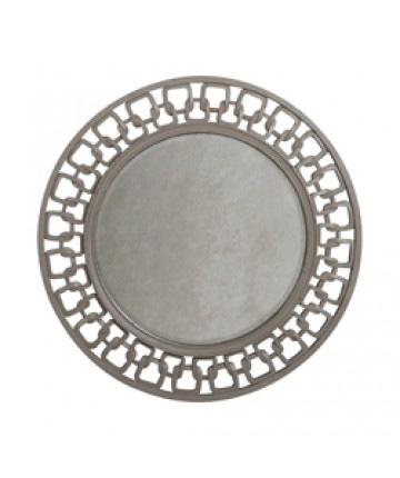 Guildmaster - Carved Chain Circle Mirror - 102506