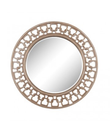Guildmaster - Carved Chain Circle Mirror - 103014