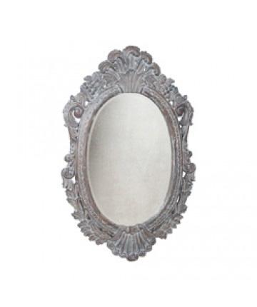Guildmaster - Oval Carved Mirror - 103507