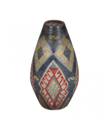 Guildmaster - Terra Cotta Oval Vase - 203504