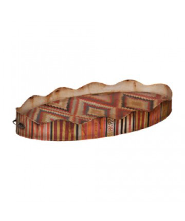 Guildmaster - Oval Scalloped Tin Tray - 283504