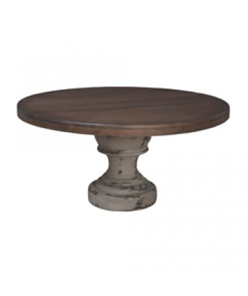 Guildmaster - Round Farmhouse Dining Table - 614505