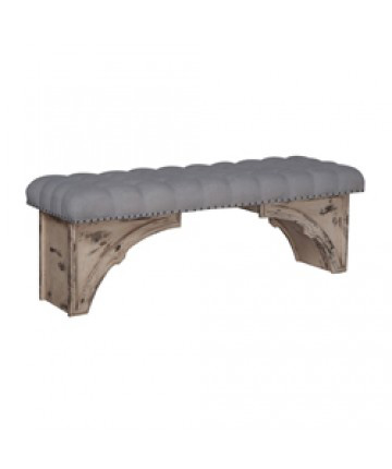 Guildmaster - Gothic Upholstered Bench - 654513