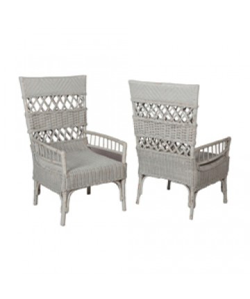 Guildmaster - Pair of Rattan Chair - 694008P