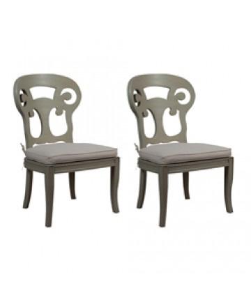 Guildmaster - Pair of Verona Club Side Chair - 694515P