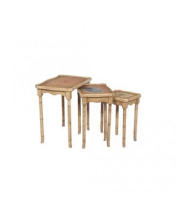Guildmaster - Bamboo Nesting Tables - 713551S