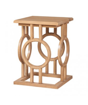 Guildmaster - Circle Cut Out Accent Table - 714028