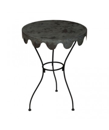 Guildmaster - Metal Wine Country Side Table - 714567