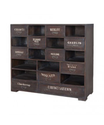 Guildmaster - Farmhouse Wine Cabinet - 605016HGS