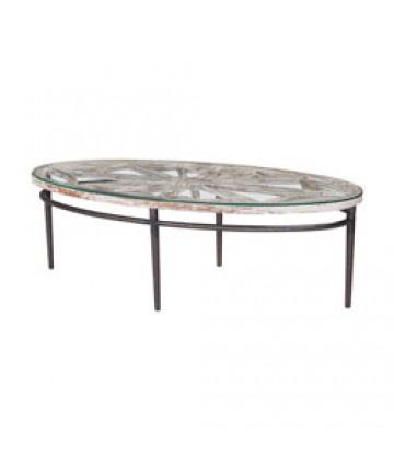 Guildmaster - Farmhouse Oval Coffee Table - 615001WG-1