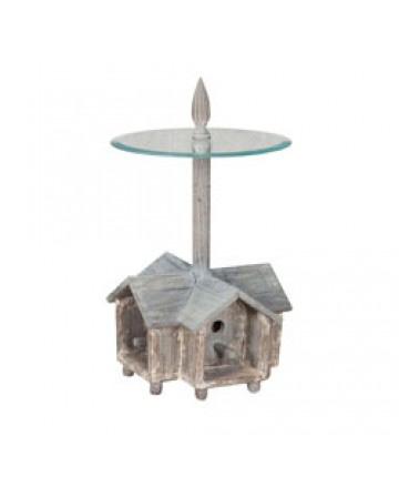 Guildmaster - Garden Birdhouse Side Table - 715055WG