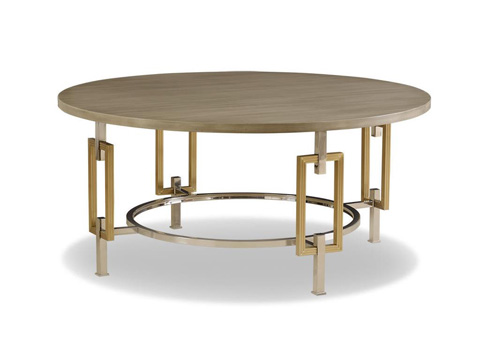 Chaddock - Nicos Round Cocktail Table - 1501-40