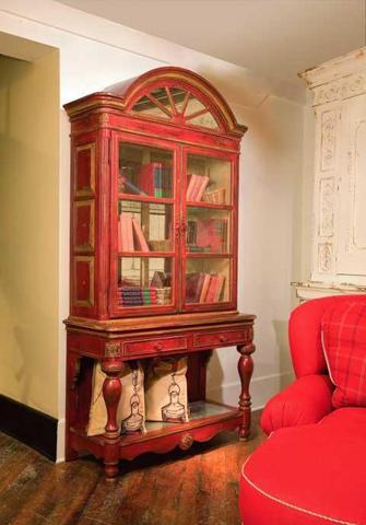 Habersham - Savannah Display Cabinet on Stand - 23-2210