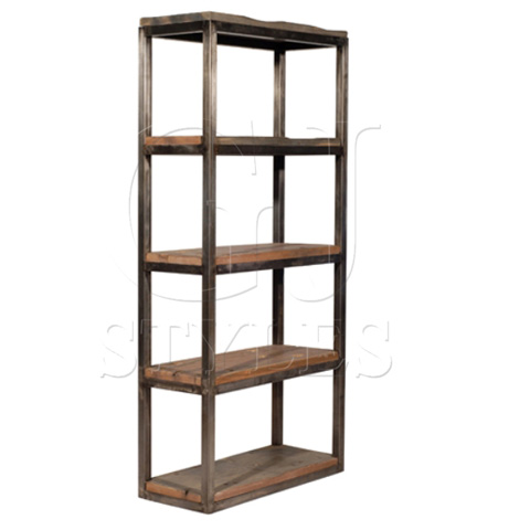 GJ Styles - Axel Single Bookcase - LU776