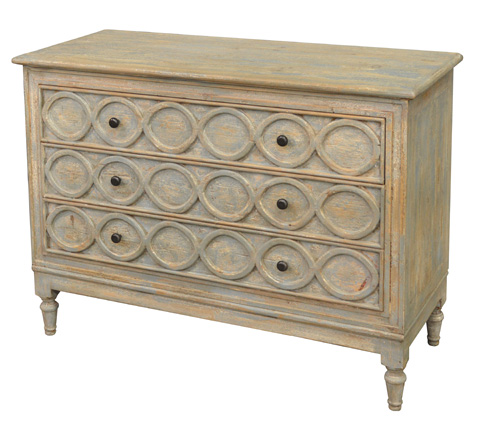 GJ Styles - Large Chest in Distressed Light Blue - BT08
