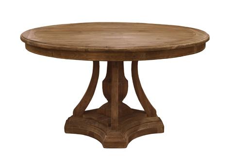 GJ Styles - Pine Round Dining Table - CS66