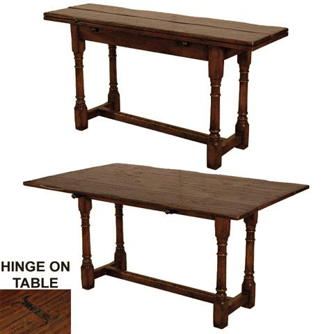 GJ Styles - Fold Over Dining Table - JK452