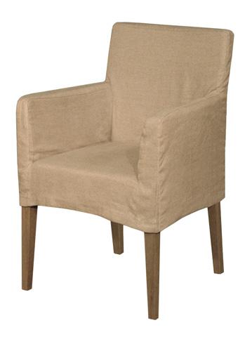 GJ Styles - Weathered Oak Doma Arm Chair - KS14