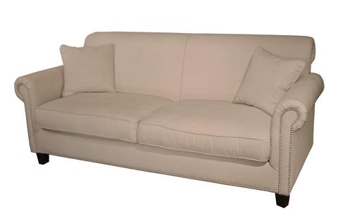GJ Styles - Zenneth Three Seater Sofa in Ecru Linen - KS38