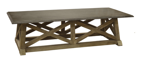 GJ Styles - Stone Top Coffee Table - LD113-OL