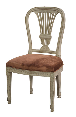 GJ Styles - Erica Side Chair with Crused Velvet Seat - SN471