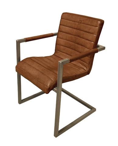 GJ Styles - Sabina Arm Chair in Light Brown Buffalo - TR07