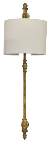 GJ Styles - White Shade Wall Sconce - SN555