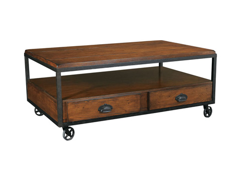 Hammary Furniture - Rectangular Storage Cocktail Table - T2075207-00
