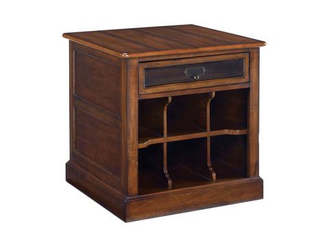 Hammary Furniture - Mercantile Rectangular Storage End Table - 050-916