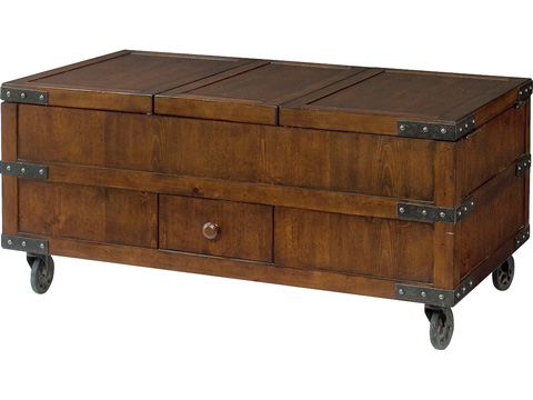 Hammary Furniture - Trunk Cocktail Table - 090-520