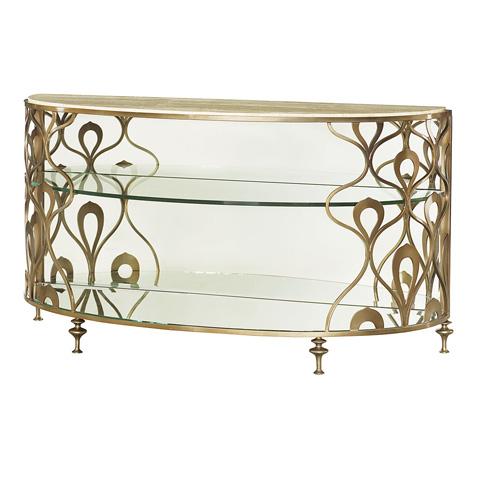 Hammary Furniture - Demi-Lune Sofa Table - 308-925