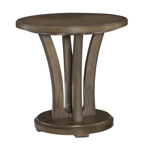 Hammary Furniture - Park Studio Round Lamp Table - 488-918