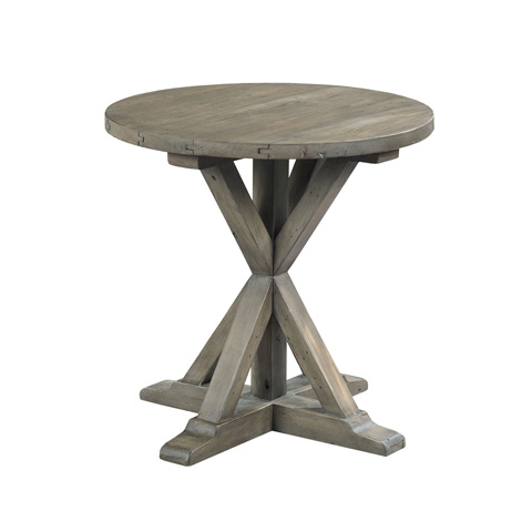 Hammary Furniture - Trestle Round End Table - 523-918
