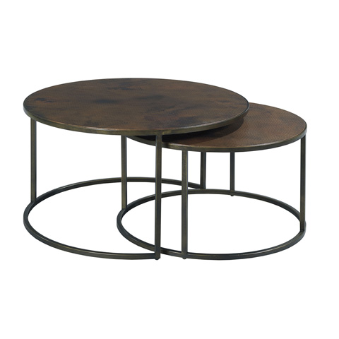 Hammary Furniture - Round Nesting Cocktail Table - 553-911
