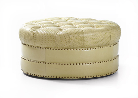 Hancock and Moore - Fairbanks Tufted Cocktail Ottoman - 027
